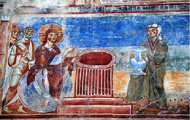 La Samaritana al pozzo, S.Angelo in Formis