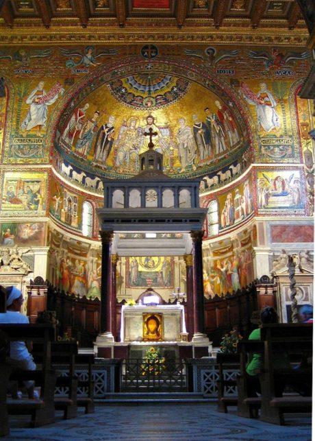 presbiterio-e-abside-s-maria-in-trastevere