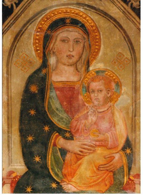 Madonna-in-trono-con-il-Bambino-s-Maria-in-Trastevere