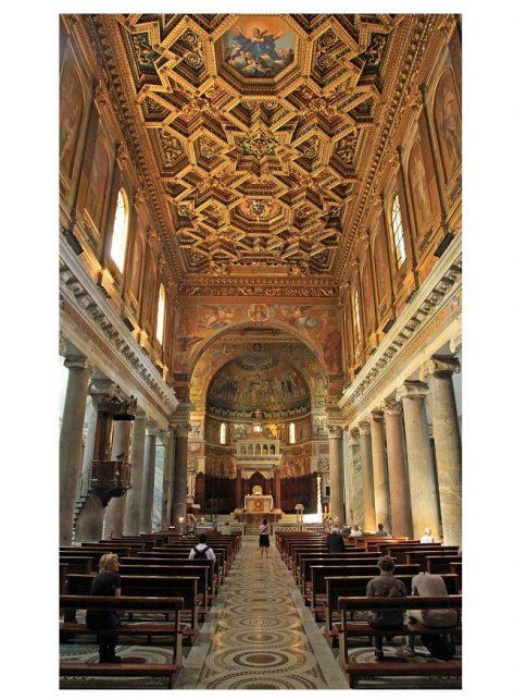 navata-centrale-santa-maria-in-trastevere