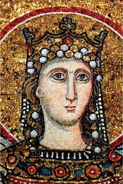 mosaico-absidale-s-maria-in-trastevere-XII-sec
